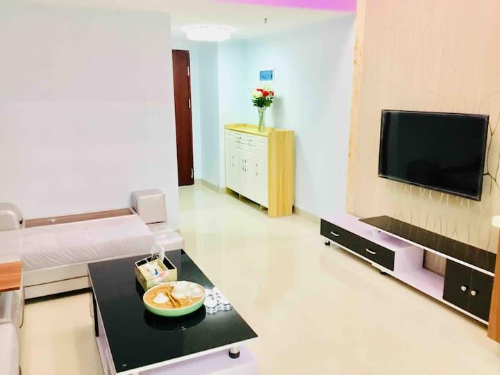 东莞常平曼诺商业中心乐活park全新loft两房两厅一卫带麻将可做饭