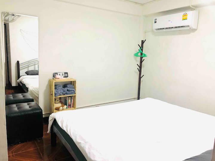 Donmuang place1/walk1.5km/Private room/住宿