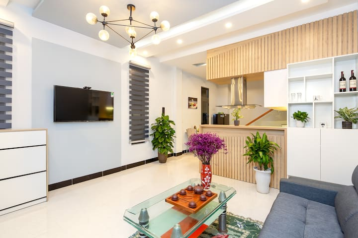 Sky House❤️3Bedroom❇️5Min HanRiver❤️Da Nang Center