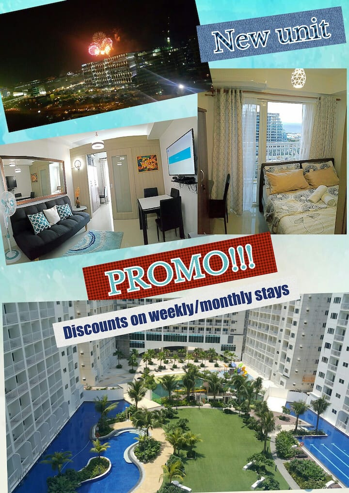 1Br w/ balcony Shore Residences MOA Pasay, Airport
