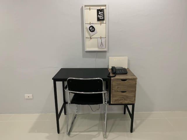Working desk in Master Bedroom