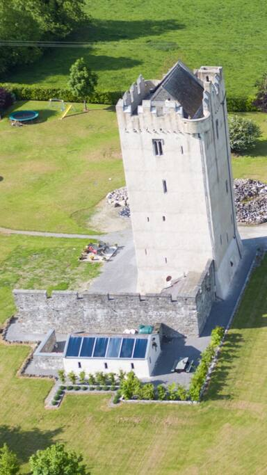 Birds eye view of Ballytarsna Castle