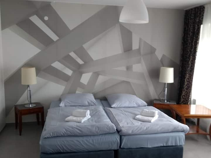 Doppelzimmer-Familie-Ensuite