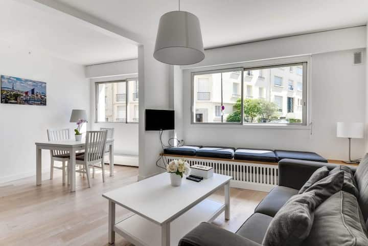 MEDIUM STAY ONLY - Charming F2 in the heart of Paris 16 - WELKEYS