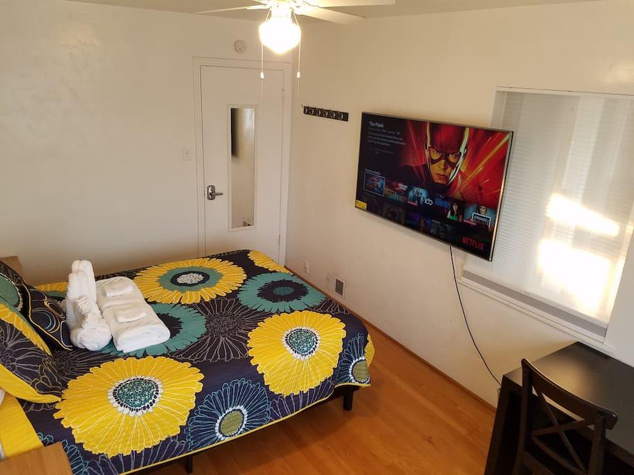60 inch TV with UHD Netflix