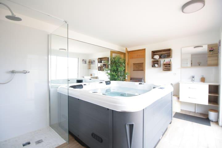 CHALET Lélio spa & sauna privé