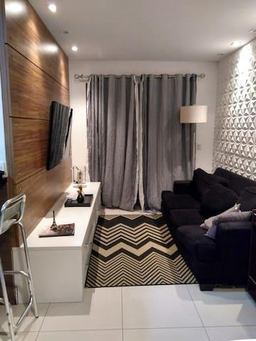 Apartamento lindo e confortável, próximo de tudo