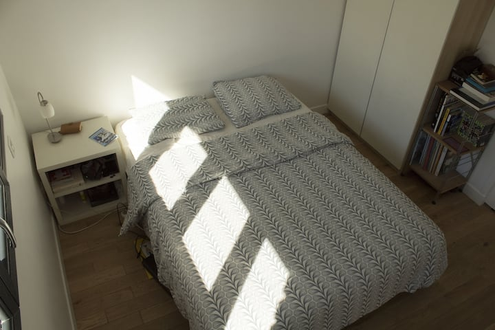 Nice private double room in Noisy-le-sec