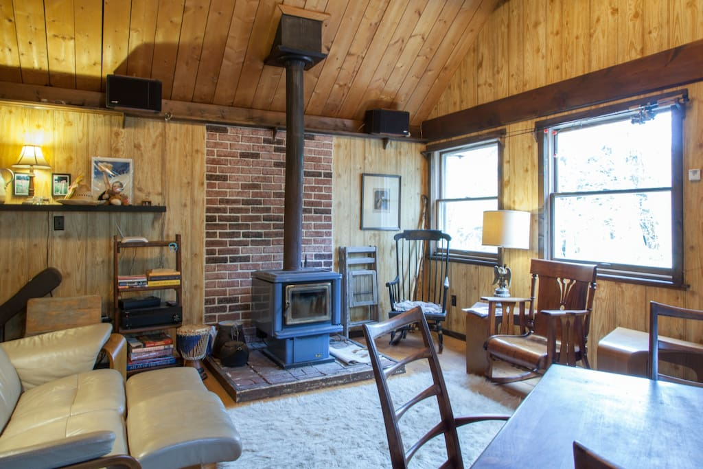 Poconos Cabin With Wood Fired Sauna Cottages For Rent In