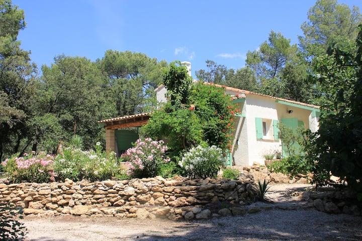 Gîte climatisé au cœur d'un Mas provençal à Rognes