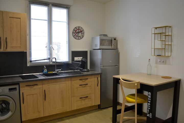 Renovated apartment, ideal for business trips