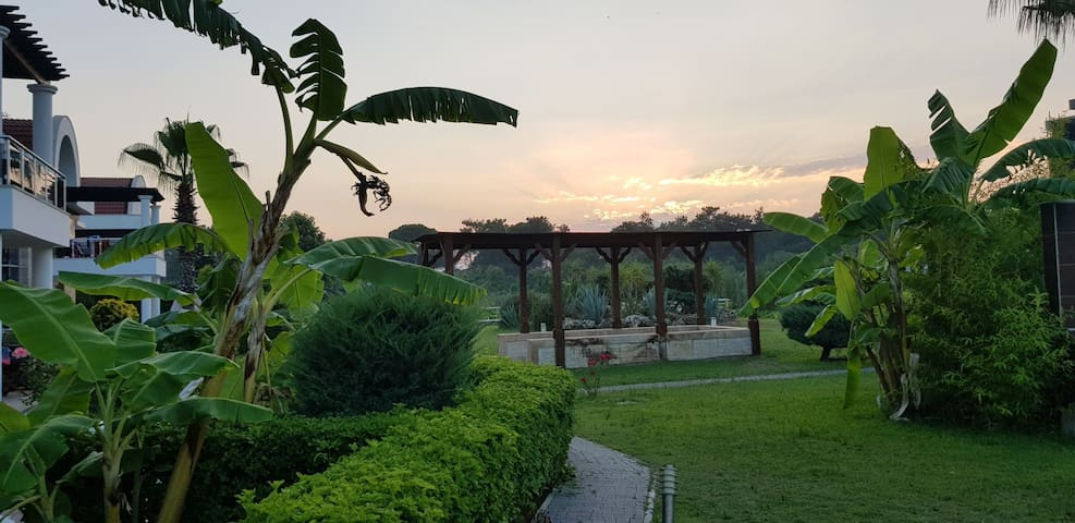 private luxury family villa beside river