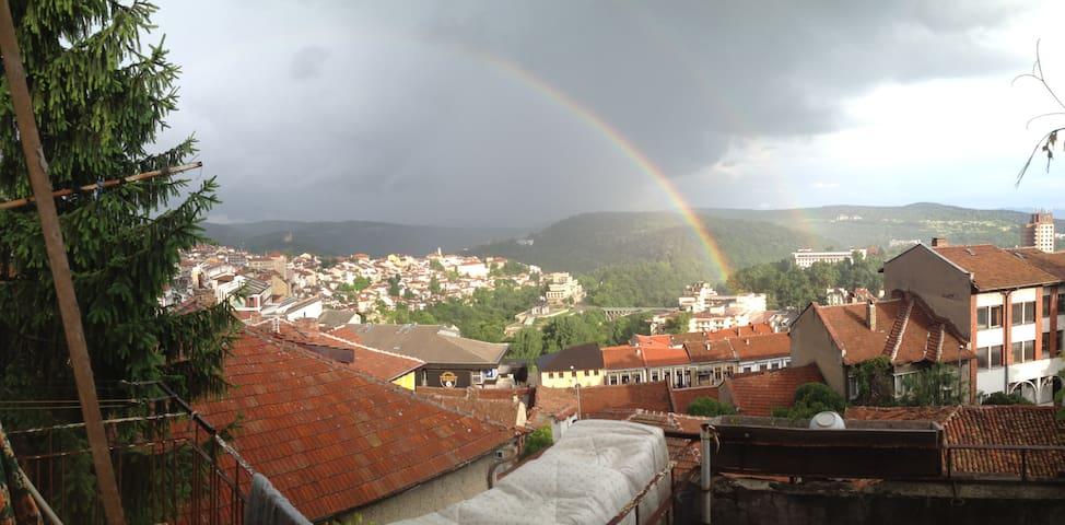 Rainbow's house