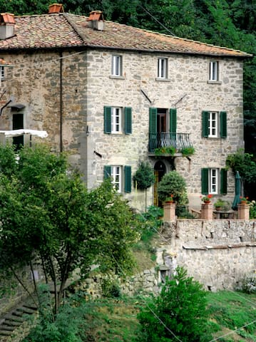 Casa Verde Tuscany Italy - Vellano - อพาร์ทเมนท์