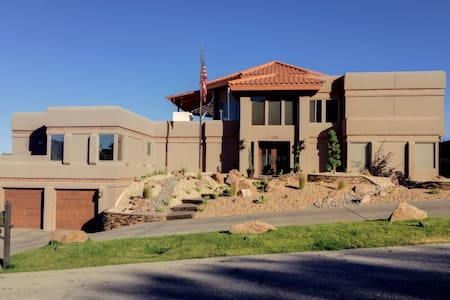 Spanish style mountainside home - El Paso - Dom