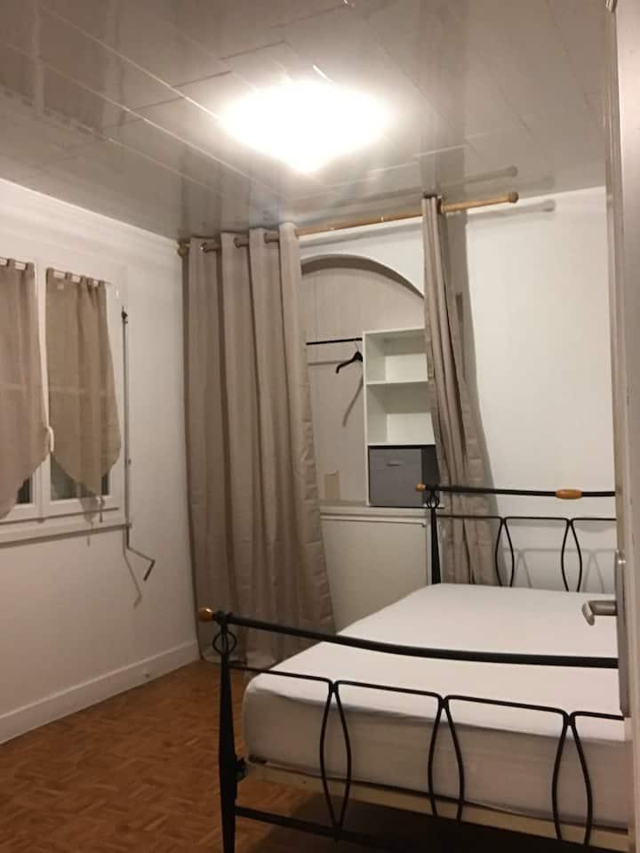 Chambres chez particulier avec accès privée(n•1)