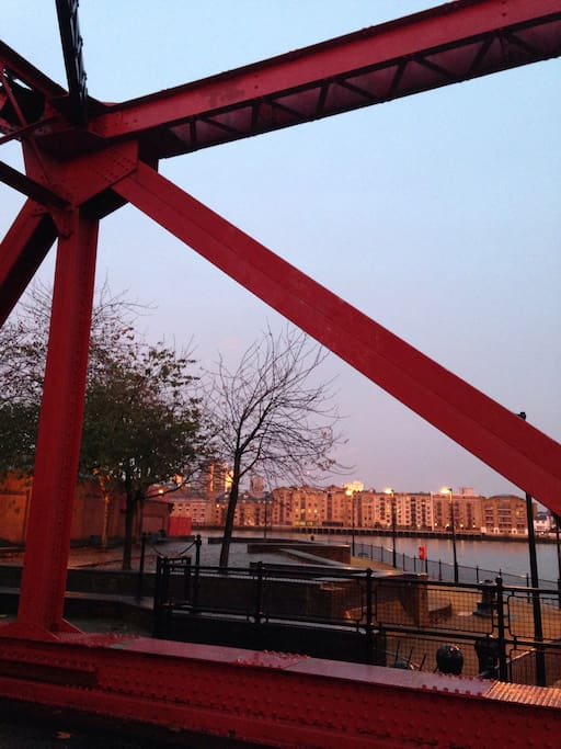river view on rotherhithe street