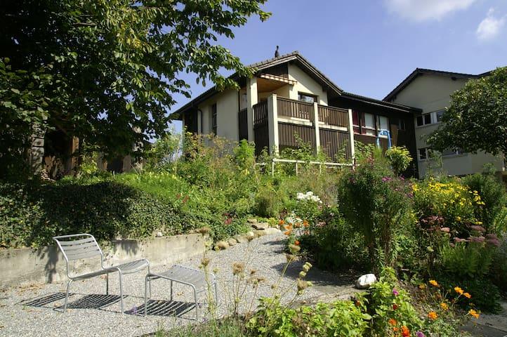 Apartment with balcony & garden - Luzern - Apartment
