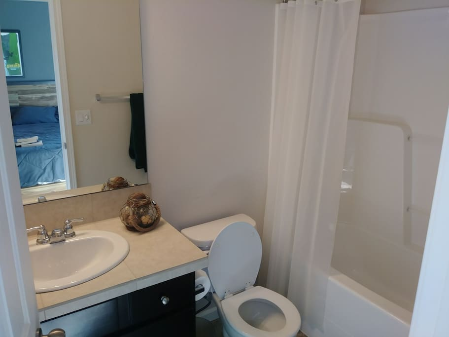 Guest attached bathroom