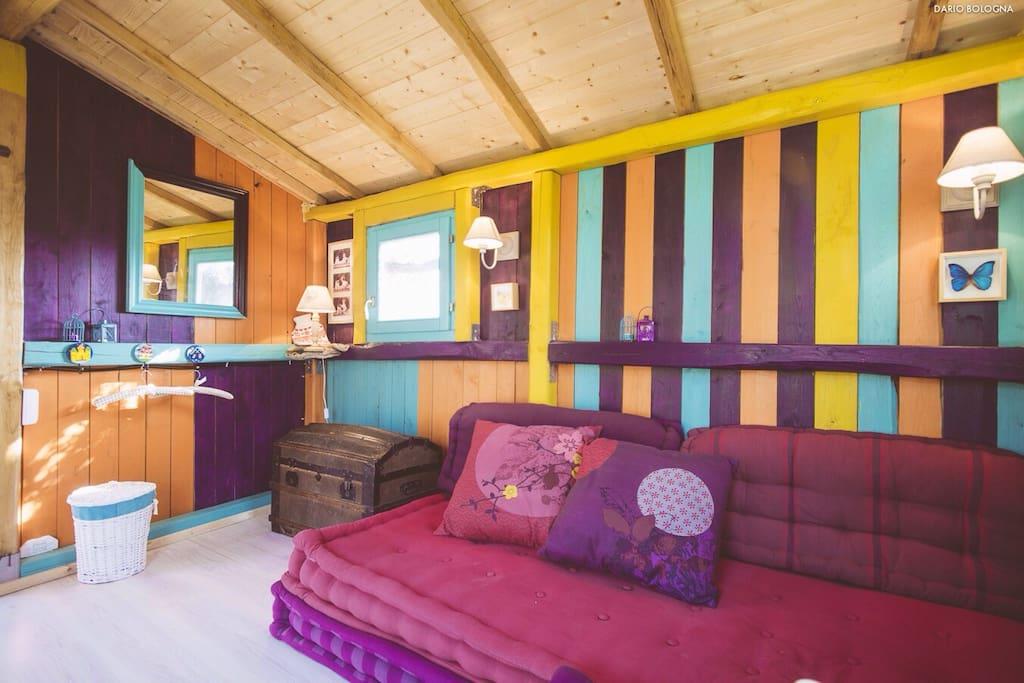 Casa capanna sull 39 albero tree house treehouses for rent - Airbnb casa sull albero ...