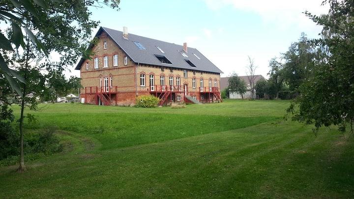 Wohnung/Datscha im Gutshaus bei Stralsund