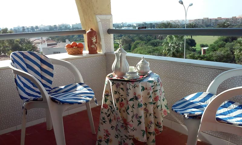 Flat with sea and golf course view - Almerimar  ('El Ejido)