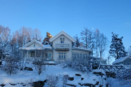 Winter by the Oslofjord