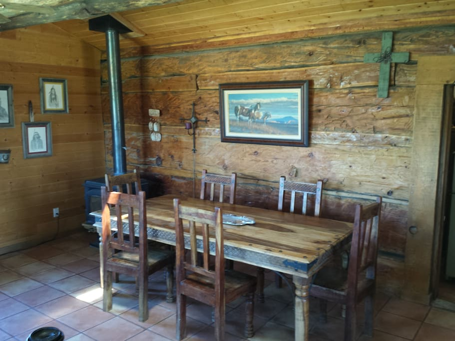 Dining room for your home cooked meals