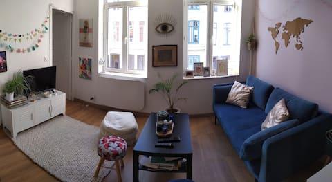 Appartement central mais au calme