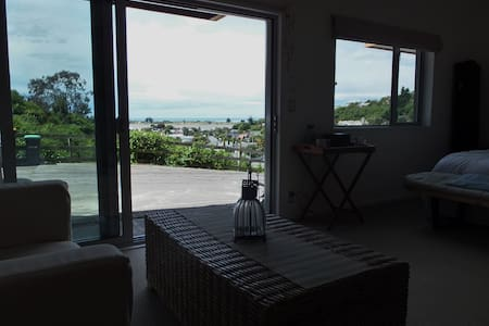 Modern, luxury apartment with sea views - Christchurch
