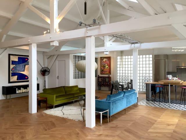 splendid loft- design style- 130 square meters. - París - Loft