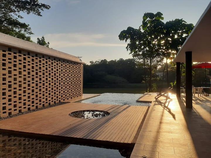 """Casa campestre """"EL ÁNGEL"""",  lugar Mágico-Natural"""