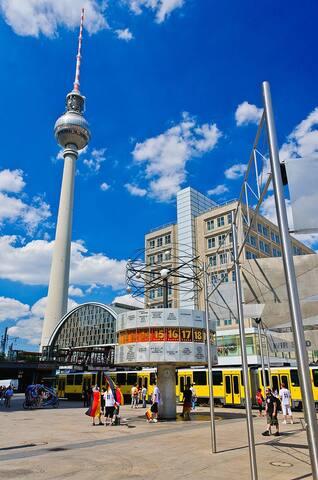 Pensionszimmer zur Jahreswende 2015 - Berlin - Apartament