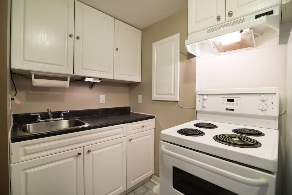 Your own private kitchen