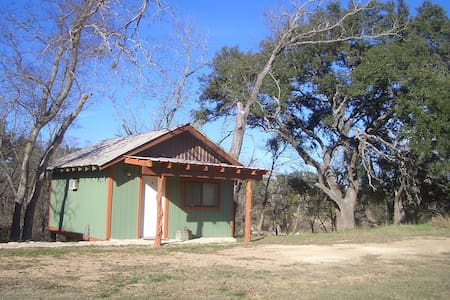 Lovely Cabin on a Ranch (6) - Blanco - Kabin