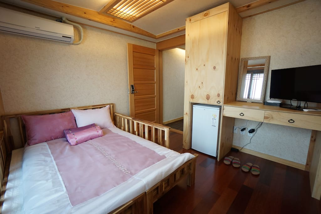 Korean Style Double Room With Balcony