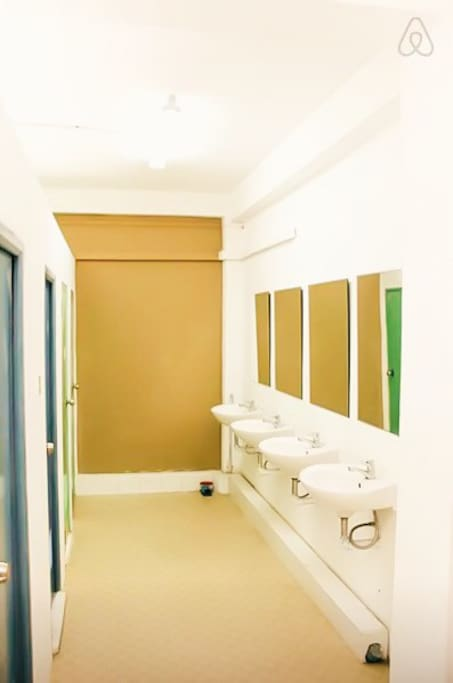 Clean Shared Bathrooms/ Toilets