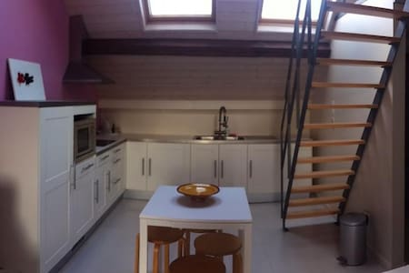Gezellige studio in charmant huis. - Halle - House