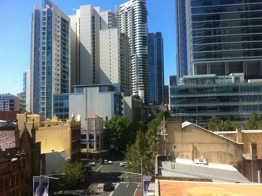1 chambre meubl e et salle de bain sur george street - Appartement circulaire sydney en australie ...