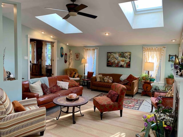 Historic Colorful 4-bedroom Oasis - Entire house!