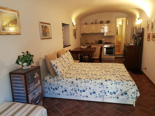 Charming studio in Camogli