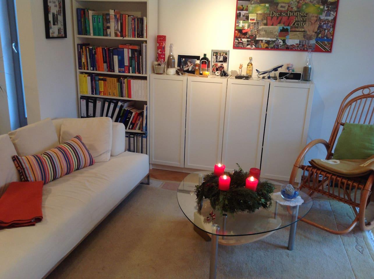 Quiet, cozy home with great lighting