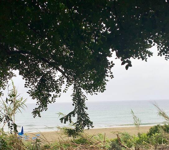 Casa panoramica sulla spiaggia di Acciaroli