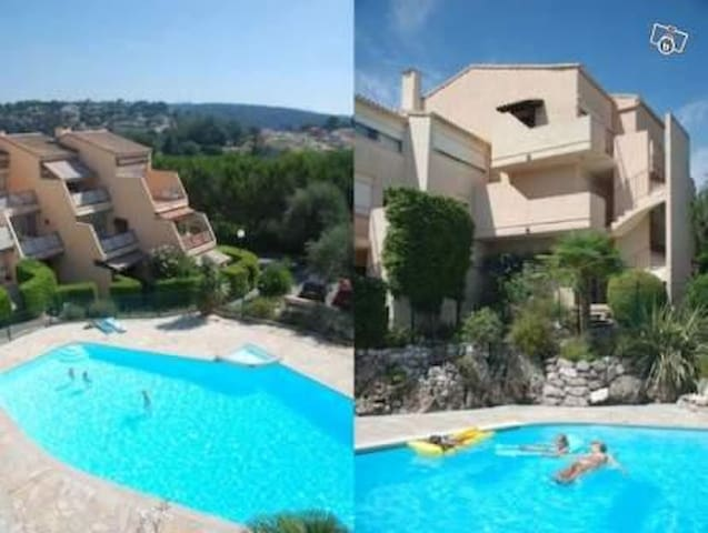 NICE RESIDENCE WITH LOVELY POOL - Vence - Leilighet