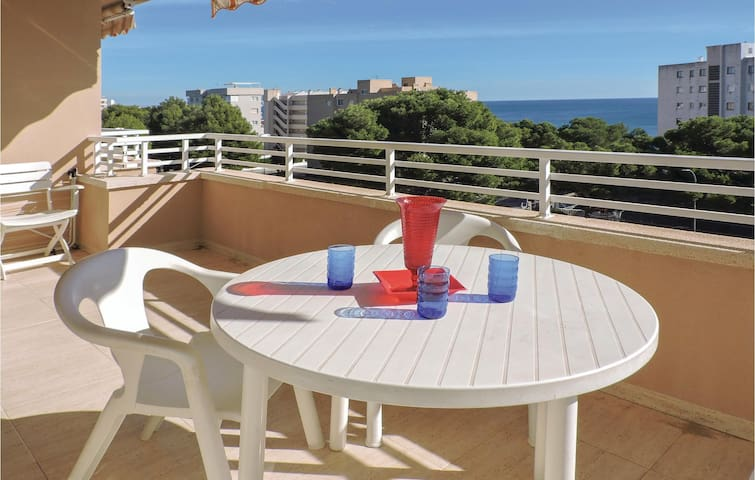 Holiday apartment with 2 bedrooms on 60m² in Miami Platja