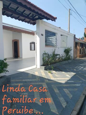 Casa Ampla familiar em Peruíbe Balneário Oasis