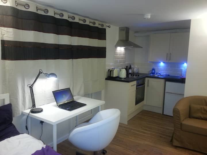 Tranquil studio flat, easy access central Bristol