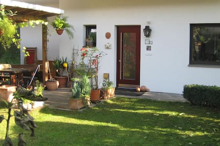 Gemütliche 4-Zimmerwohn. mit Garten - Bressanone
