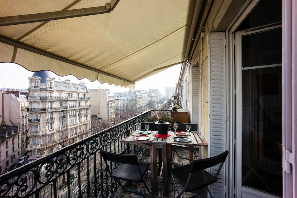 Aperitif/lunch on the terrace