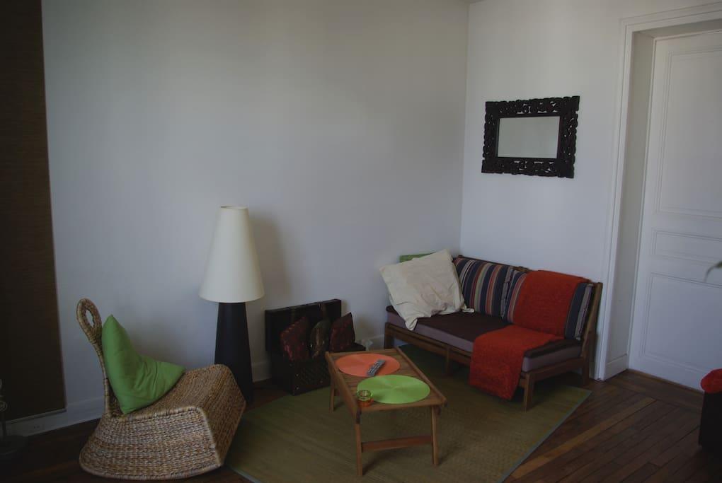 Salon zen  /  The cosy lounge